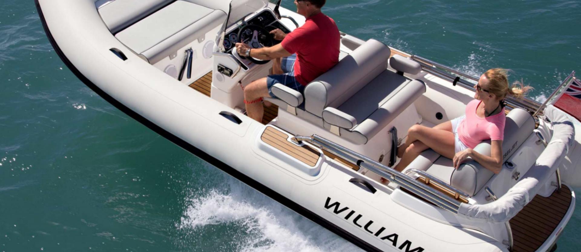 Williams Jet Tenders Diesel Jet 505