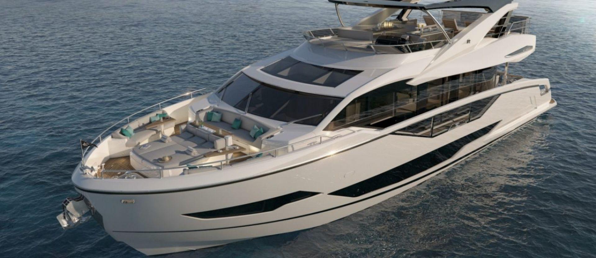 Sunseeker 87 Yacht